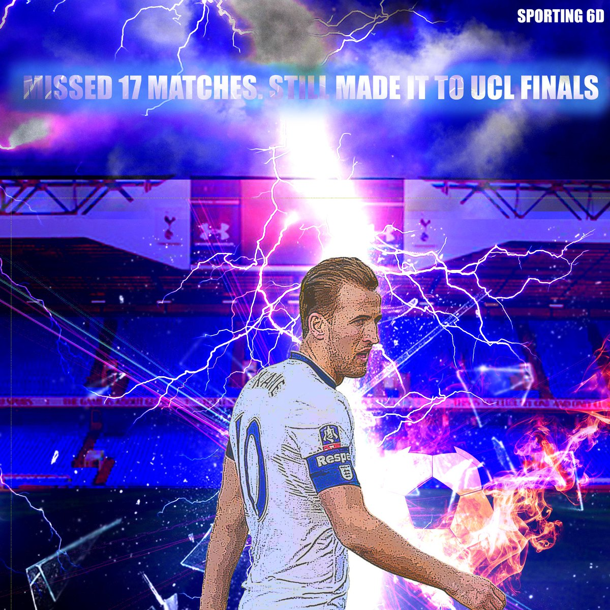 Despite missing out best players due to injuries #Tottenham has managed to reach the #UCLfinal. Can they beat the mighty #Liverpool?#UCL #ChampionsLeague #ChampionsLeagueFinal #PL Liverpool Spurs Tottenham #LFC #THFC #thfc #coys #COYS #LIVTOT #Spurs #harrykane #fridayfeeling