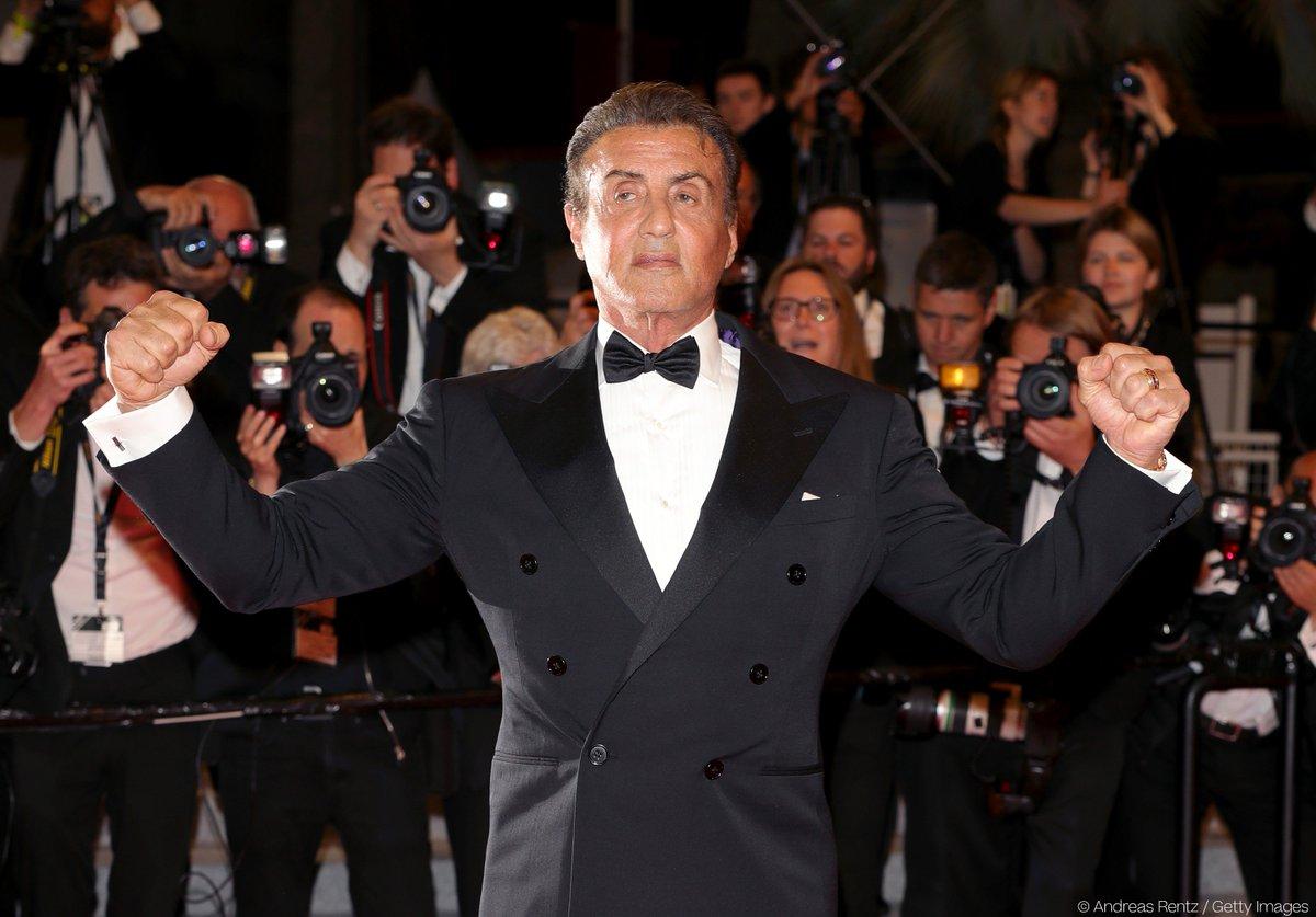 #RedSteps Sylvester Stallone   #Cannes2019  #SylvesterStallone @TheSlyStallone <br>http://pic.twitter.com/IgvCV4Y0hV