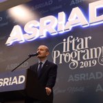 Image for the Tweet beginning: ASRİAD İftarı 📷