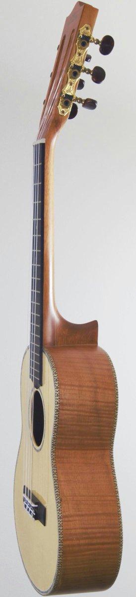 Hohner spruce okume 6 string liliu tenor at ukulele corner