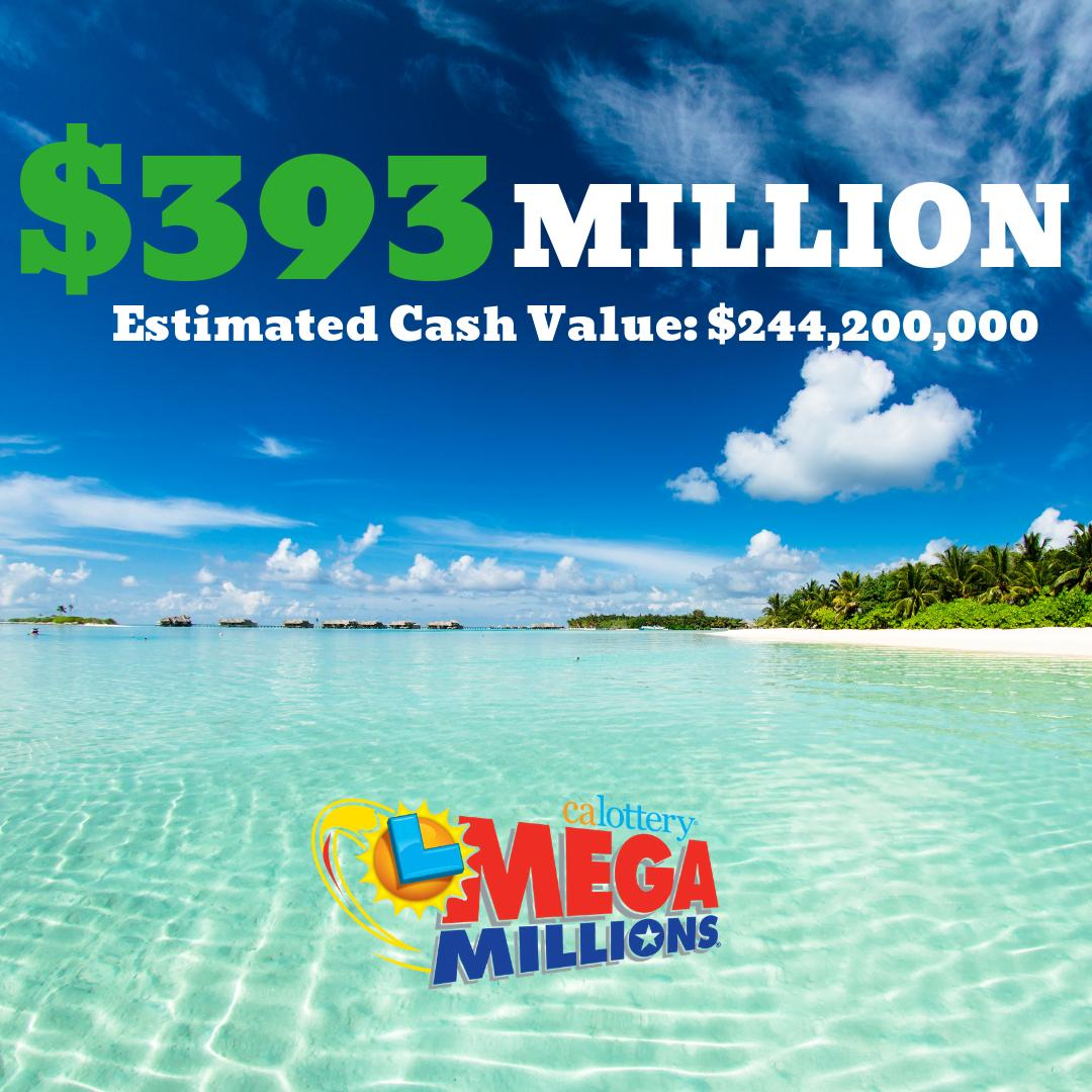 Life would be a beach after winning this jackpot... #megamillions #calottery