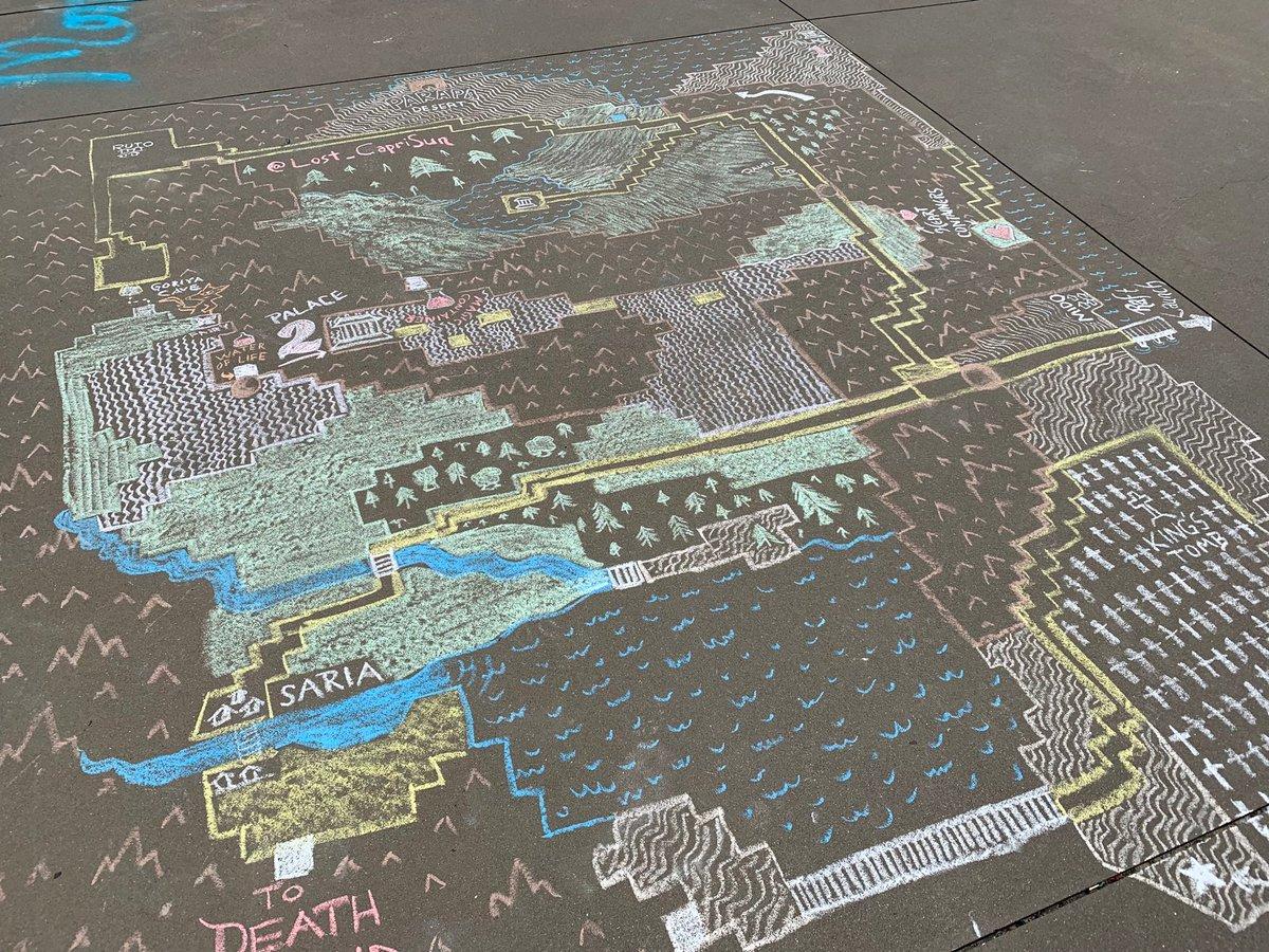 Zelda Ii Map on