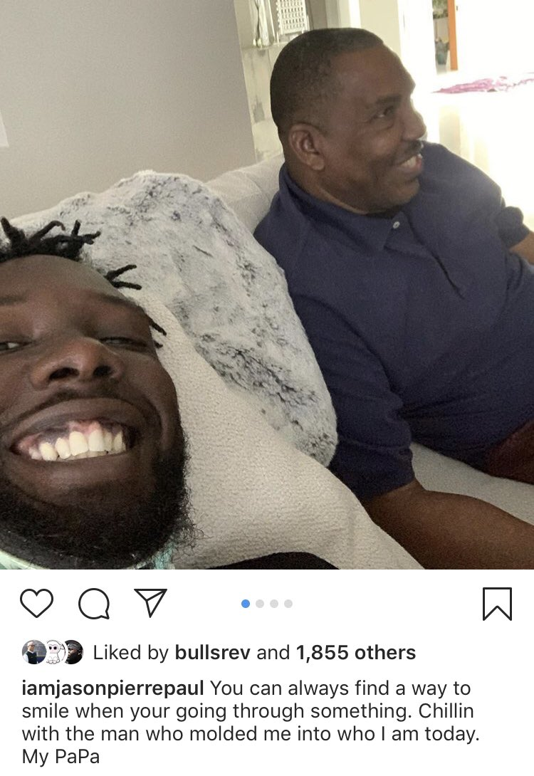 JPP's 1st Pic Since Accident🙌