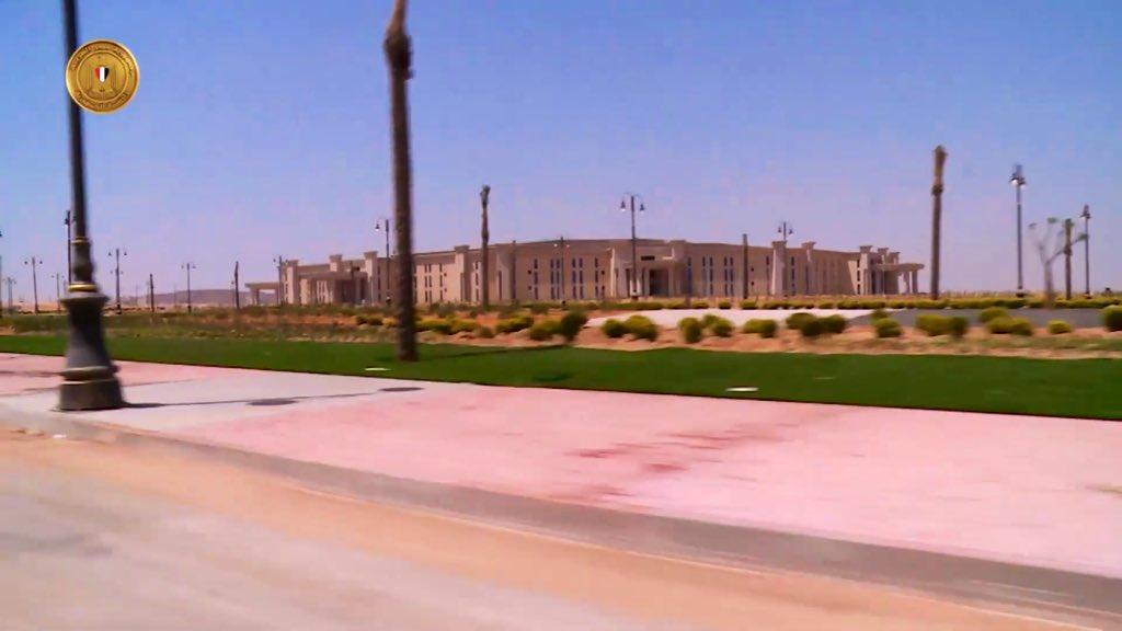 The Octagon :  مقر جديد لوزارة الدفاع المصرية  في العاصمة الإدارية الجديدة D7XIA2rXkAA16Fr