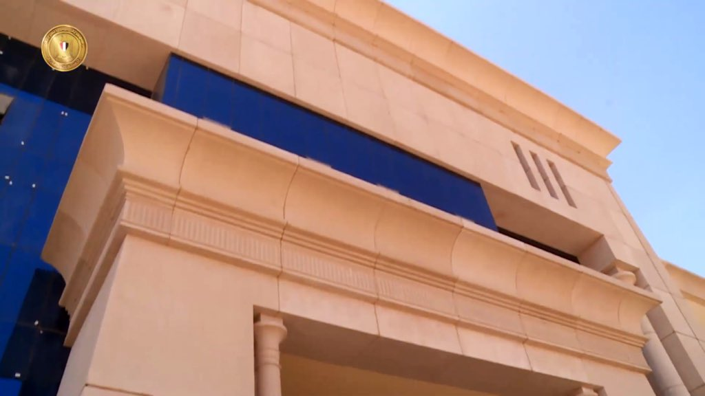 The Octagon :  مقر جديد لوزارة الدفاع المصرية  في العاصمة الإدارية الجديدة D7XIA2sW0AEzLnA