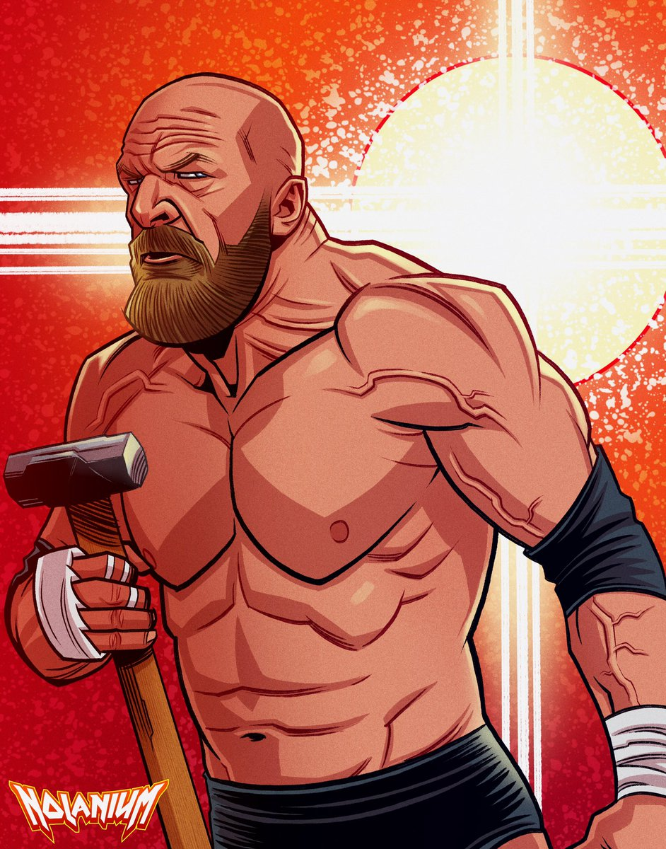 The Game @TripleH #tripleh #wwe #wrestlingart #wwenetwork