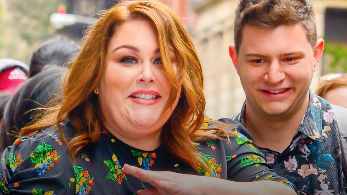 Image for the Tweet beginning: Chrissy Metz and her new