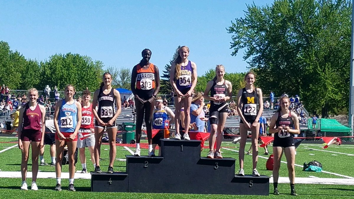 Congrats to PK on placing 2nd in the High Jump today! #multisport #IAmAWarrior<br>http://pic.twitter.com/IE3bwtqXhC
