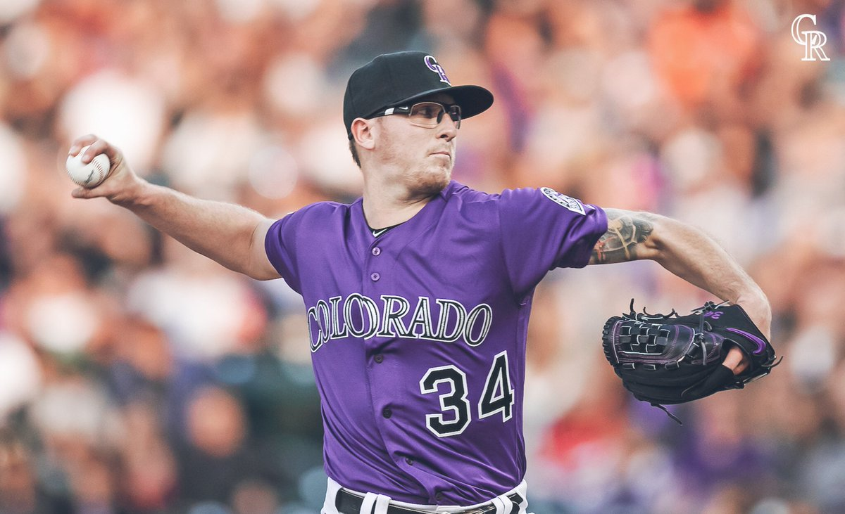 Colorado Rockies's photo on Jeff Hoffman