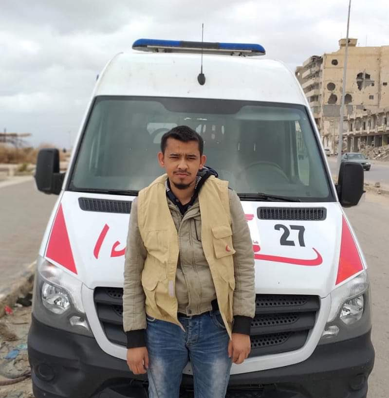 2 more first responders killed in #Tripoli yesterday, their clearly-marked ambulances struck by shelling. 6 health workers have been killed &amp; 7 injured since April. Their deaths, on front lines trying to save lives, are unacceptable. Health workers are #NotATarget<br>http://pic.twitter.com/VORKOSulca
