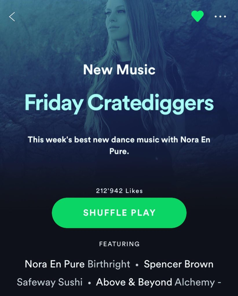 Have you added #Birthright to your playlist yet? Thanks @Spotify for the featuring #FridayCratediggers #NewMusicFriday  nep.lnk.to/Birthright