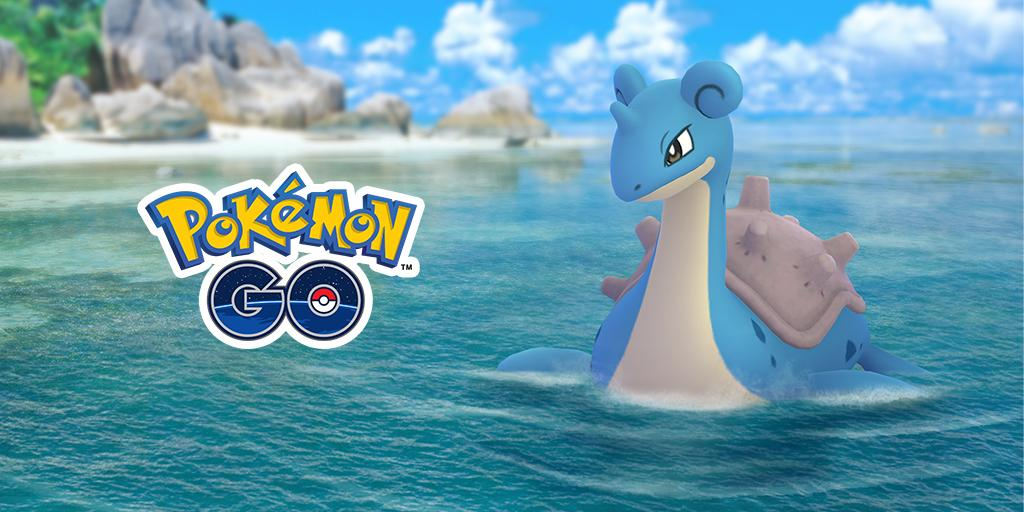 Pokémon GO's photo on Lapras
