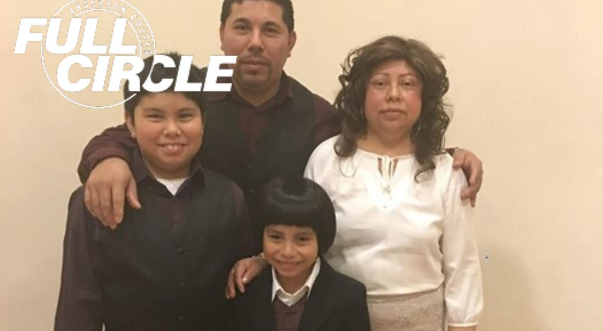 Maria Paxtor just told her two young sons she's going to lose the fight with cancer soon. Their dad, who is undocumented, has been banned from reentering the country. A family friend shares their story on Full Circle. Tune in on Facebook Watch. https://t.co/QsZ0hKhv5c https://t.co/1YGNbyQc6I