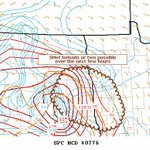 Image for the Tweet beginning: 5:44pm CDT #SPC_MD 0776 ,