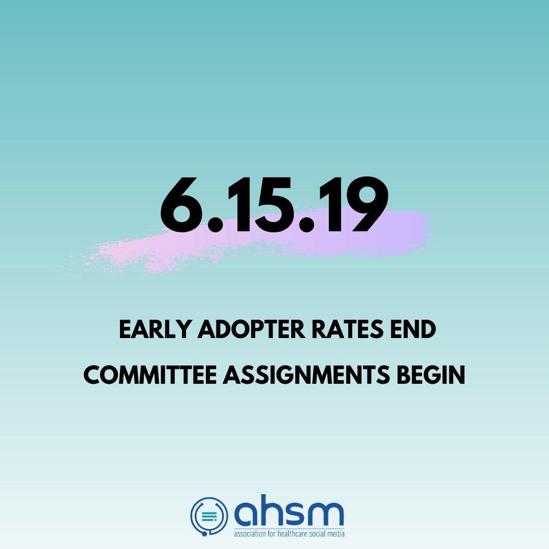 AHSM • Association for Healthcare Social Media (@AHSM_org