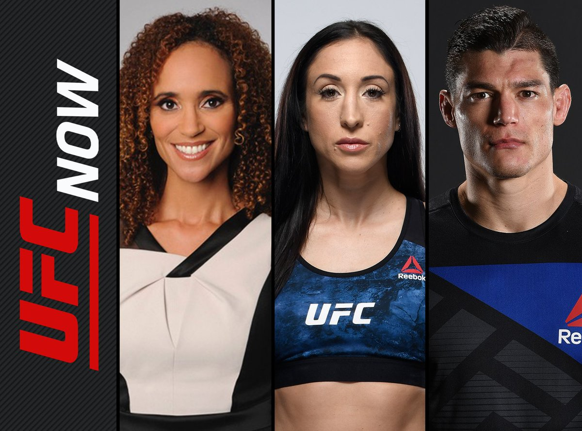 We're back in the studio with @alanjouban @KarynBryant @JessicaPenne for another great episode. It's time to send your questions using #UFCNow and get answer on the show. • • #ufc #mma #fightnight #ufcfightnight #fightpass #martialarts #octagon #mmaquestions #mixedmartialarts