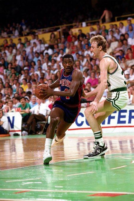 LegendsOf Sport would like to wish a very Happy Birthday to 2x NBA Champion Point Guard Joe Dumars! (