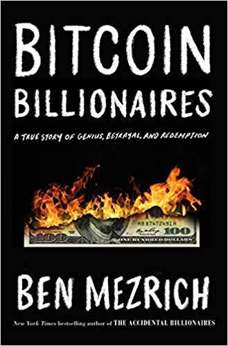 "Author @BenMezrich on his new book ""Bitcoin Billionaires"" - tmrw on @CBSThisMorning Saturday"