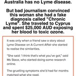 "Image for the Tweet beginning: ""Chronic #lyme"" is not a"