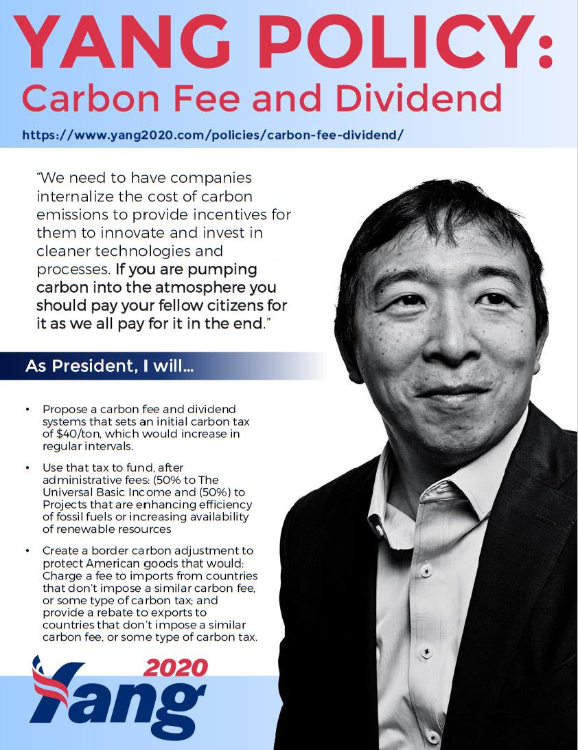 https://www.yang2020.com/policies/climate-change/… #Yang2020 #ClimateChange #CarbonDividend #Environmental #Technology #Emissions #Carbon #Climate #energytax