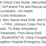 Image for the Tweet beginning: To wrap up #EMSWeek, here