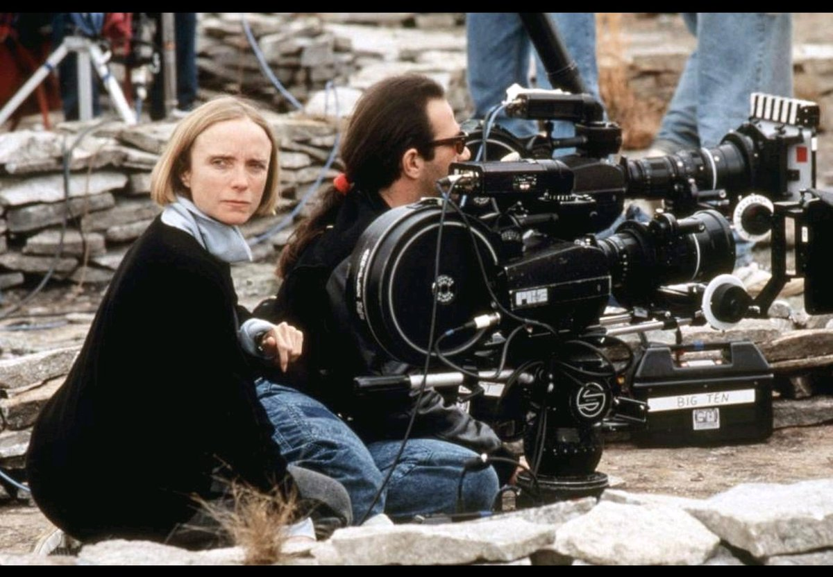 Directing PET SEMATARY 2 while 6 Months Pregnant!  Russell Carpenter is a Brilliant DP &amp; truly one of the nicest people I&#39;ve ever worked with. He later Won an Oscar for Titanic!  #femalefilmmakerfriday  #DirectHERBoost #womeninfilm  @ParamountMovie @ParamountPics<br>http://pic.twitter.com/GF6uYiKCer
