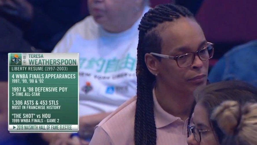 Teresa Weatherspoon. Legend. #WNBA