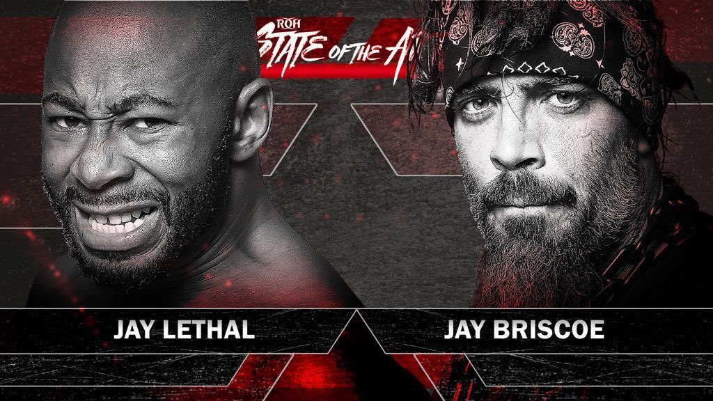 To see 2 matches that Jay will have during the #ROHSOTA tour against his great rival and an man that is amazing and I'd love to meet in the future, @PCOIsNotHuman, is unbelievable!!