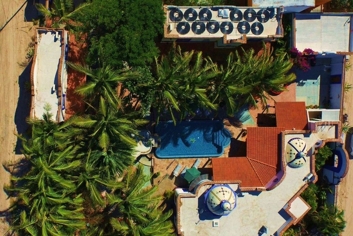 9 Bedrooms I 10 Bathrooms I Award winning Trip Advisor Hacienda Paraiso I Paradise Living nestled one block from the sea and close to downtown close to the beach and historic Malacon. Offered at $1,530,000 USD. Local exclusive brokerage. #lapaz #bajasur #mexico