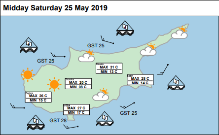 Bright and dry with patchy cloud and plenty of #sunny spells today. It'll be breezy around the coasts though. Slightly cooler though, see pic for today's temperatures. ^DR