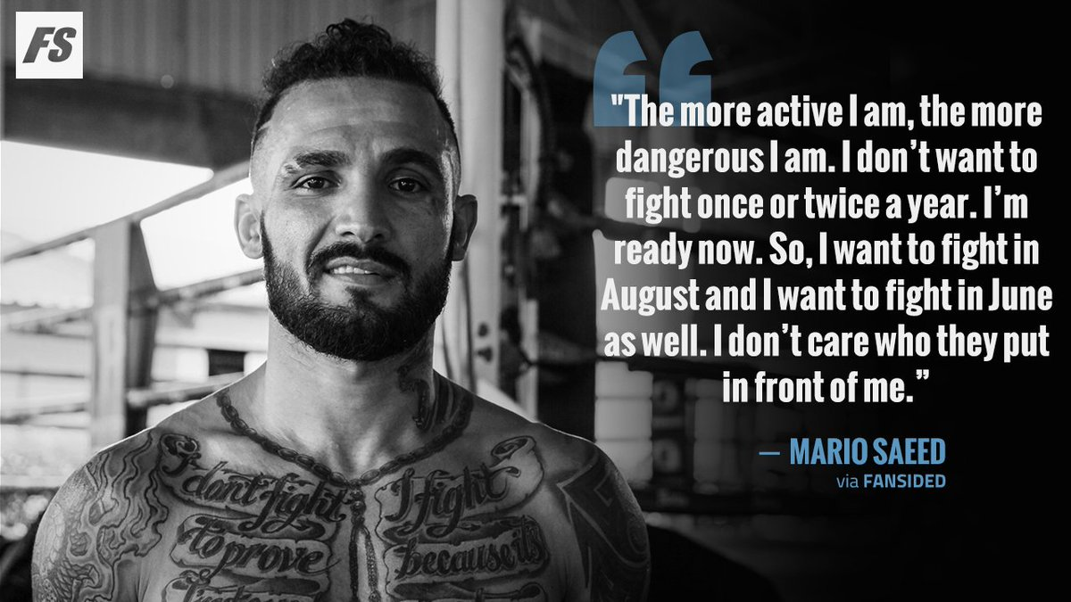 🚨 EXCLUSIVE: We scouted Mario Saeed as our pick for the next #UFC signing, read why as we sit down with the British fighter in Phuket, Thailand  @MarioRudeboy7 @PhuketTopTeam   Via @PhotoAmy33   READ: https://fansided.com/2019/05/24/mario-saeed-next-ufc-lightweight-star/…