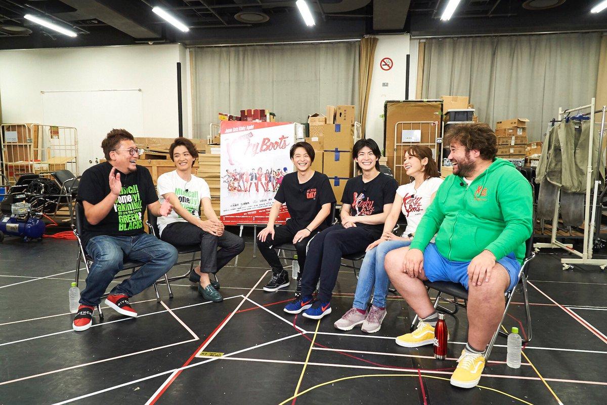 我らが 井上芳雄 さんのNYでの トニー賞 直前 ブロードウェイ レポート、本日 18時45分〜です