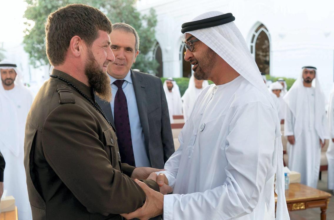 #ufc242 #mma #kadyrov #LGBT #lgbtq @repdinatitus  @USEmbRu @GovSisolak @USEmbRuPress @StateDept @statedeptspox @SecPompeo @OSCE @usosce   Chechen leader Ramzan Kadyrov with the Crown Prince of Abu Dhabi in the Emirates.  The #UFC must condemn the #GayPurge in #Chechnya!