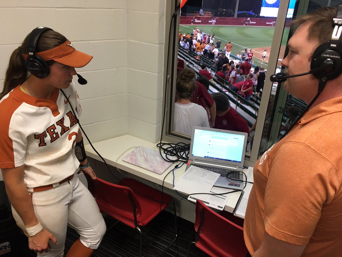 "A GREAT NIGHT at the plate for Alabama native @mk22tedder earns her our Texas ""Player of the Game"" radio interview! #HookEm<br>http://pic.twitter.com/otarqvlu6P"