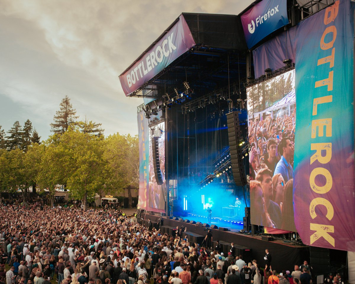 Bottlerock Music Festival 2020 BottleRock Festival 2020 | Alignment | Tickets | Dates | Live