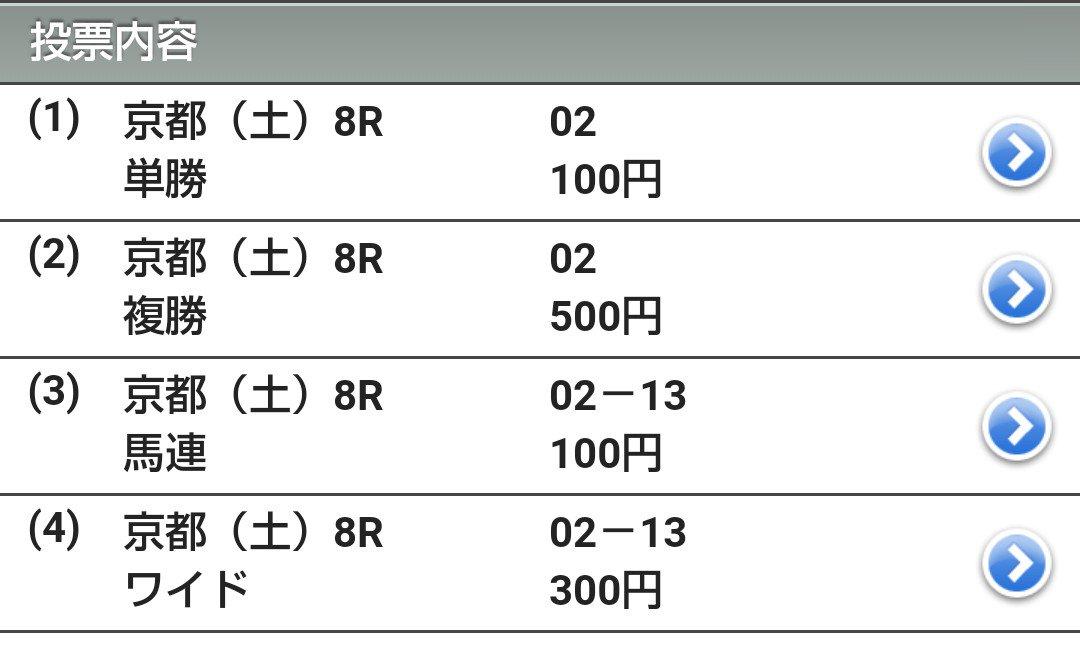京都8R 僕はパスですが、娘は2番のサンライズフルメンが良く見えたらしい。 #南関東  #競馬  #パドック  #馬券  #単勝  #複勝  #地方競馬  #無料  #回収率  #穴馬  #相馬眼  #馬券生活
