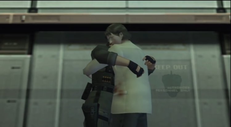 """K O‼️@ catboy wwx agenda on Twitter: """"everyone: otacon and snake handshake  lmao me: tHEY HUG FOR ALMOST TEN SECS AFTERWARD S AND ONLY SEPARETE BC OF  THE ANNOUNCEMENT O MGGGGHH… https://t.co/wPa45sZk7k"""""""