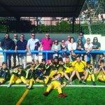 Image for the Tweet beginning: 🔝⚽️#ALEVINA⚽️🔝 Termina la Liga con una