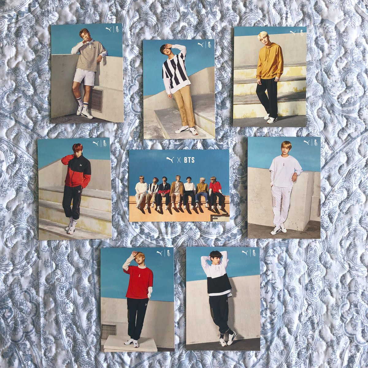 after @minpdsbae gifted me the jimin puma turin photocard i had an itch that needed scratching, so i scratched it and with all 8 cards🥰