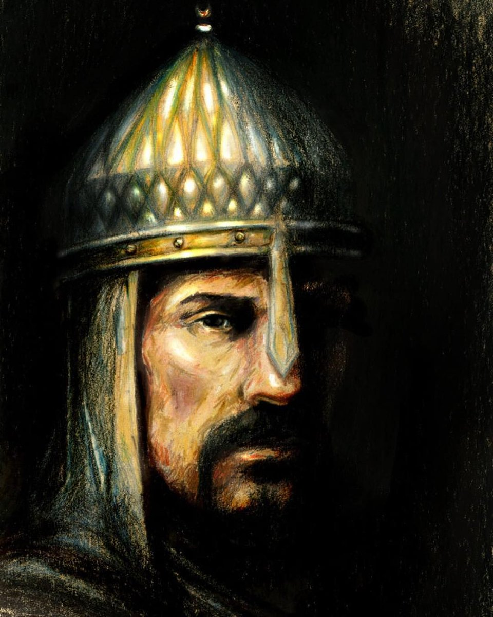 In 1063 AD  (454 AH), Muḥammad ibn Dāwūd who later came to be known as Alp Arslan which is Honorific in Turkish meaning 'Heroic Lion' or 'Courageous Lion' in English, became the Sultan of The Seljuk Empire.  [THREAD] <br>http://pic.twitter.com/XyEzDzNgdv