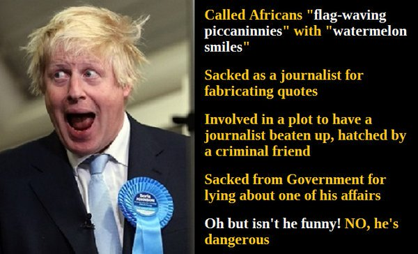#BorisJohnsonShouldNotBePM UK&#39;s answer to Donald Trump ?   Bullington Bully boy boris <br>http://pic.twitter.com/JfgZiIOsYk