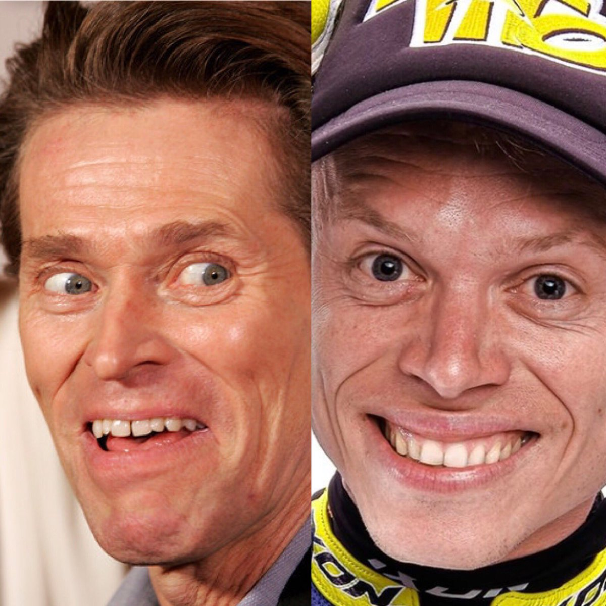 Tito & William DaFoe have never been seen in the same room together. #motogp