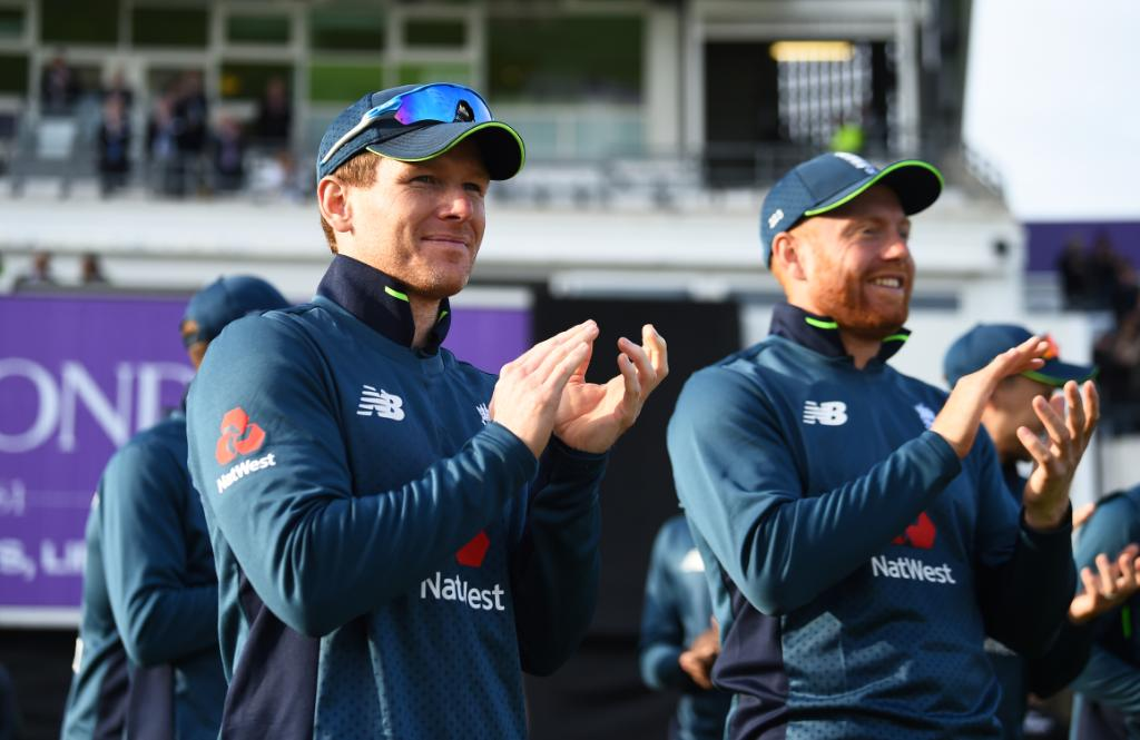 England's record in their last 33 completed ODIs in England:  Played: 33 Won: 29 Lost: 4  👀