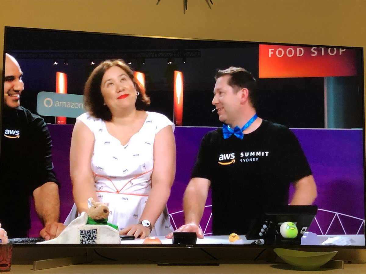 Yay! Our Twitch videos from the AWS Sydney Summit are up on YouTube! ☺️ https://www.youtube.com/playlist?list=PLhr1KZpdzukfR8hGHwVFBvwBMOs1D-QTs… @gabehollombe @pstanski