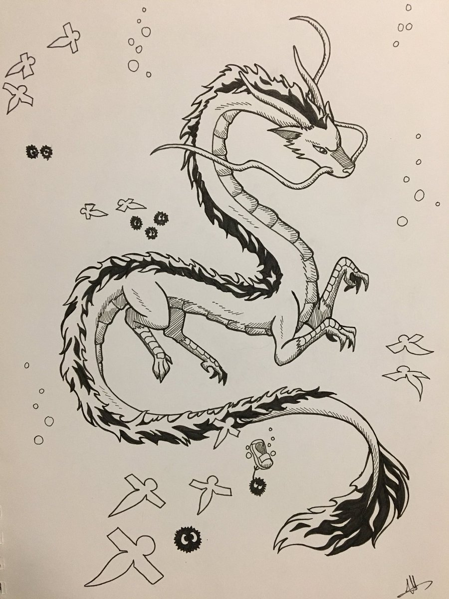 Rocket Is Fucking Tired On Twitter I M Honestly Surprised That I Ve Never Drawn Haku Before Prints Available For Sale Soon He Counts For Mermay Because He S A River Spirit Mermay Mermay2019 Ink