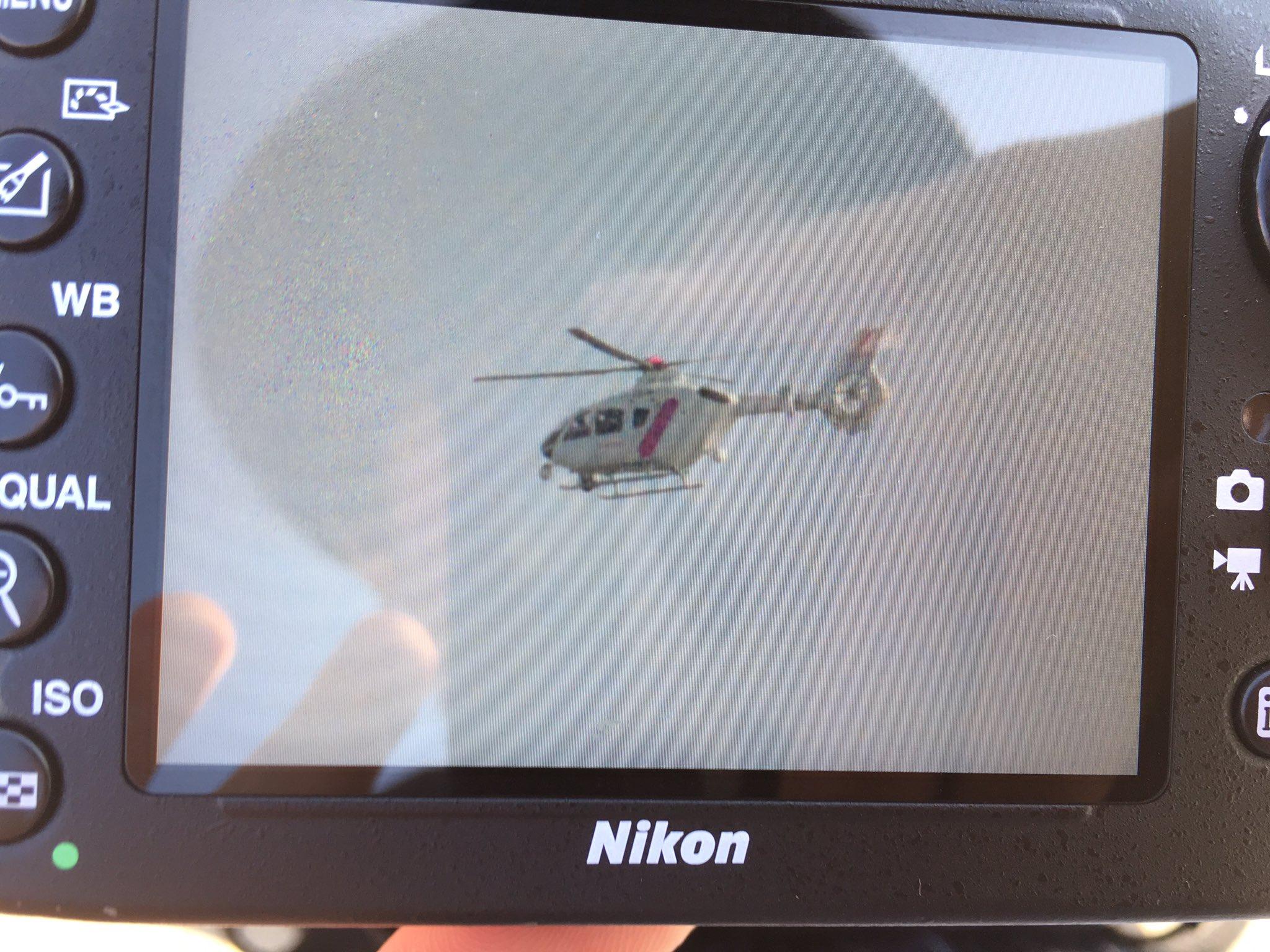 画像,地震発生後数分でディズニー方面へ向かう報道ヘリ。 https://t.co/iWndXNo5JQ。