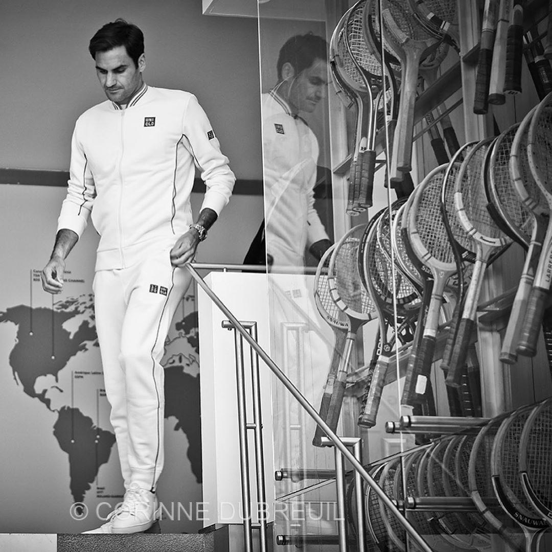 Perfect #Federer #RG19 <br>http://pic.twitter.com/dDjtubwumJ