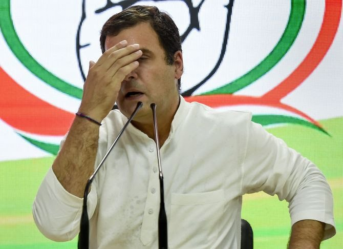 Among the Congress party's 52 LS seats it has won in 2019's Lok Sabha Polls, if you take out 15 in Kerala and 9 in Tamilnadu, the Rahul Gandhi led Congress party has won just 28 seats in the rest of India's 34 States and Union Territories. #IndiaDecides #IndiaDecides2019