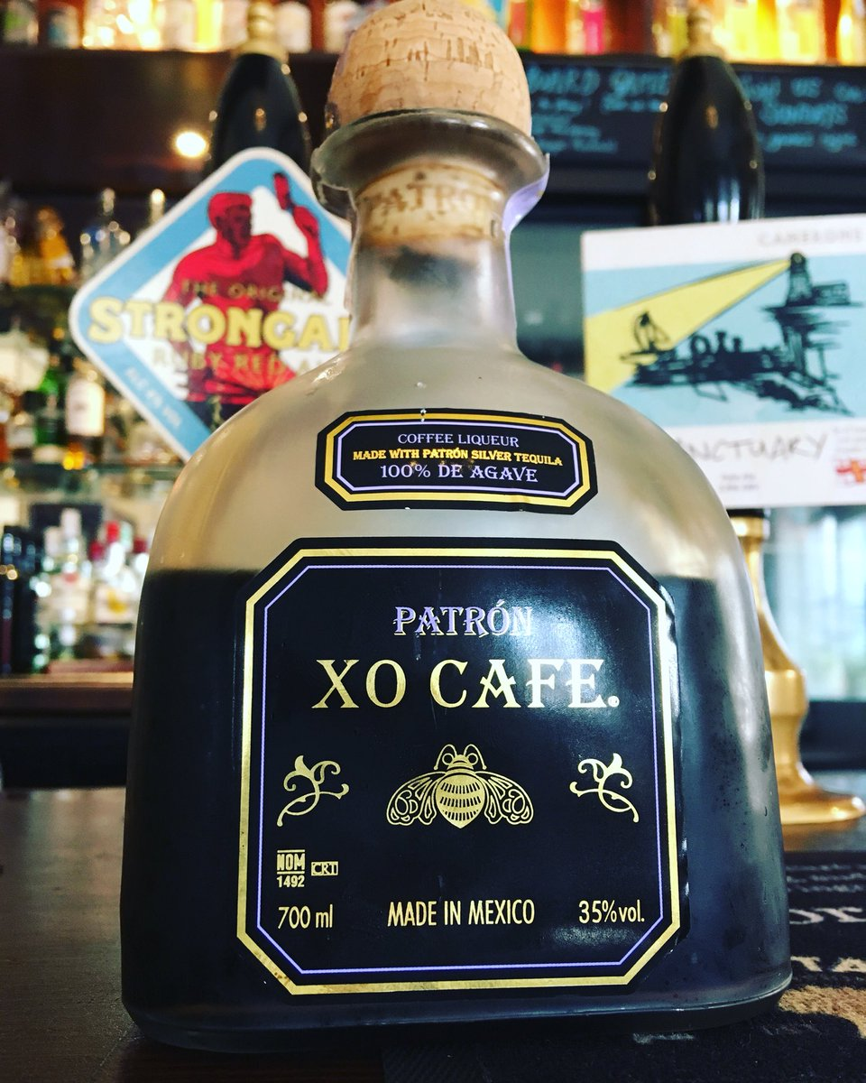 Morning coffee? Or cheeky tequila? Come head of steam for both! #headofsteamhuddersfield #cameronsbrewery #patron #xocafe #tequila #tequilafordays #pickmeup #morningbrew