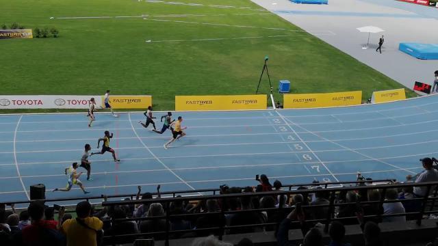 Atletica, Tortu vola nei 100 metri: 9'97. Il video...